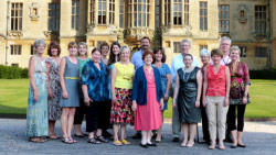Harlaxton Alumni on the annual trip